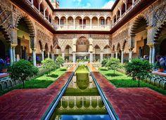Patio de las Doncellas Real Alcázar (Sevilla)