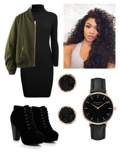 """""""Olive"""" by eupastiche on Polyvore featuring Rumour London, WithChic, Kimiko, Topshop and Humble Chic"""