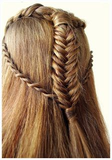The Hobbit-Elven Hair Tutorial: Beautiful and easy braids for an Elven Archer look