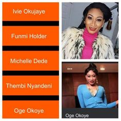 Actress Oge Okoye has been nominated Best Actress in Africa Magic Awards 2017