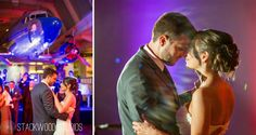 Dancing the night away within Henry Ford Museum -  Stackwood Studios