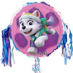 Paw Patrol Skye And Everest Birthday Pull String Pinata 3rd Parties