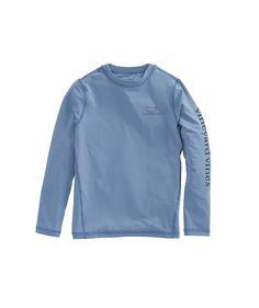 f9a20dbf5c Vineyard Vines Boys Rash Guard - White Cap Xl Sporty Swimwear, White Caps,  Mens