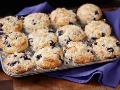 Matt's Lemon Blueberry Muffins : Recipes : Cooking Channel Recipe   Cooking Channel