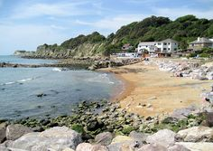 Steephill Cove, Ventnor, Isle of Wight.  Went on honeymoon to IoW.  Beautiful place, must go back.