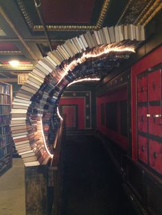 The Last Bookstore - time tunnel The Last Bookstore, Stairs, Home Decor, Stairway, Decoration Home, Room Decor, Staircases, Home Interior Design, Ladders