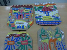 Make your own tiki mask.  Love it student made creates ownership in the classroom