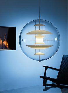 VP Globe-glass GL40OG D400 H400mm ¥357,000 Verner Panton/三栄コーポレーション