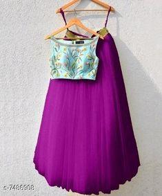 Aakarsha Drishya Women Lehenga  Topwear Fabric: Silk Bottomwear Fabric: Net Inner Fabric : Silk Dupatta Fabric: Silk Product Type: Lehenga Choli Set type: Choli And Dupatta Sizes:  Semi Stitched ( Lehenga Length Size: 3 m, Blouse Length: 0.80 m, Dupatta Length Size : 2.25 m)  Dispatch: 2-3 Days New Lehenga Choli, Silk Dupatta, 10 Years Girl, Blouse, Hot, Fabric, Shirts, Design, Women