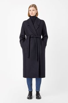 COS | Wool mohair coat