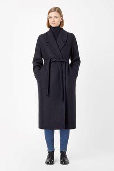 COS | Wool mohair coat