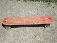 Turning old roller skate into the Skateboard/I did