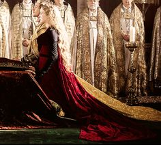 Queen Elizabeth of York and King Henry VII. The White Princess
