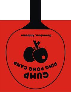 Bolsa creativa de GUMP ping pong camp