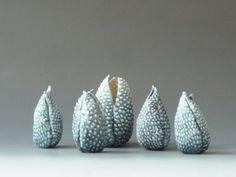 Brenda Tarbell Ceramics Ceramic Teapots, Ceramic Pottery, Mad Hatter Tea, Seed Pods, Ceramic Design, Handmade Felt, Ceramic Artists, Artist At Work, Sculpture Art