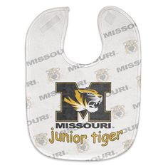 Missouri Tigers Baby Bib - Full Color Mesh  www.shopmosports.com