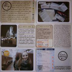 Můj papírový relax: Project life 12 - right page Project Life, Relax, Projects, Log Projects, Blue Prints