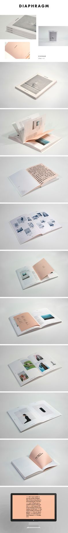 LAYOUT | simple, grid, elegant, colour, text, image, gallery, balance