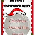 FREE Christmas Around the World - Internet Scavenger Hunt