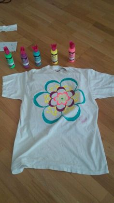 diy puffy paint t-shirt