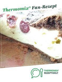 Zauberkuchen Schoko-Kirsch (Dreh-dich-um Käsekuchen) von Emma Robert. Ein Thermomix ® Rezept aus der Kategorie Backen süß auf www.rezeptwelt.de, der Thermomix ® Community.