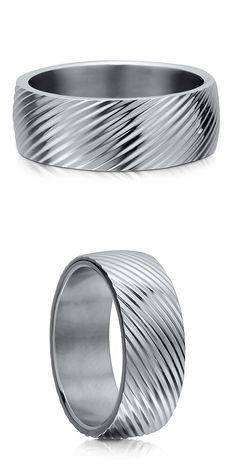 Stainless Steel Wedding Ring #R469