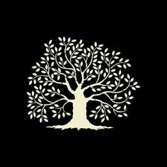 OAK TREE Stencil - Yankee Stencil Co. offers an on-line Custom Stencil Designer and variety of pre-made stencils! Tree Stencil, Stencil Painting, Wall Stencil Patterns, Stencil Designs, Tree Templates, Old Oak Tree, Wall Paper Phone, Custom Stencils, Tree Wall Decor