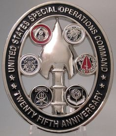★★limited Edition US Special Operations Command SOCOM Challenge Coin★★