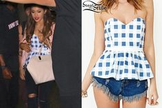 Ariana Grande checking into a hotel in NYC June - Style Steal Ariana Grande Outfits Casual, Casual Outfits, Cute Outfits, Cute Fashion, Fashion Outfits, Women's Fashion, Mode Kpop, Celebrity Look, Celebrity Clothing