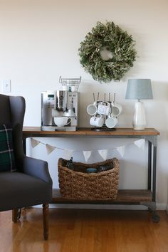 Winter Wreaths for The Holidays. Tips from The Inspired Room blog.