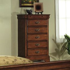 Shop Furniture of America  CM7650DK-C Venice Chest at ATG Stores. Browse our dressers, all with free shipping and best price guaranteed.