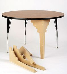 Love this idea! How to revive an Institutional Table.
