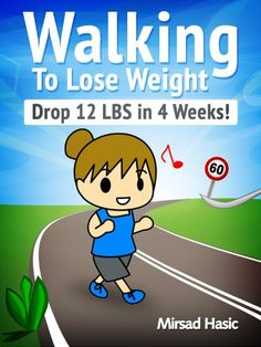 Walking to Lose Weight for Women - Drop 12 LBS in 4 Weeks - How To Lose Weight Fast For Women #HowToLoseWeightFastForWomen #WeightLoss #LoseWeight