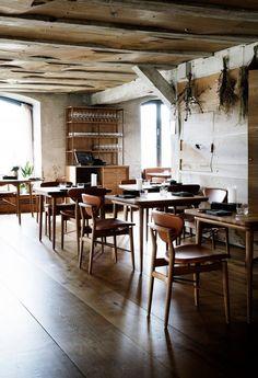 Nordic Restaurant Barr Interior by Snohetta, Copenhagen – Design. Noma Restaurant, Restaurant Lighting, Scandinavian Restaurant, Scandinavian Interior, Restaurant Furniture, Restaurant Interior Design, Restaurant Interiors, Copenhagen Design, Copenhagen Denmark
