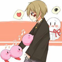Mafumafu and Kirbys