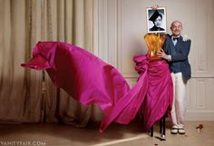 "Christian Lacroix Talks About Reviving Schiaparelli, the ""Sacred Sphinx"" of Fashion | Vanity Fair"