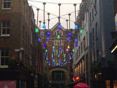 London lights in china town
