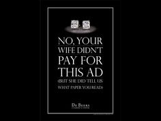 debeers ads - Google Search