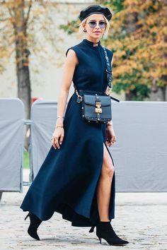 Гости показа Dior в Dior с ног до головы