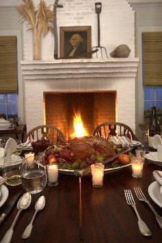 A holiday-worthy meal at P. Allen Smith's Garden Home. Visit www.pallensmith.com for more photos, recipes, and tips.