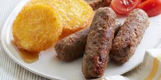 These meatless bean-packed sausages taste just like the real thing-and they're full of fiber grams per link). Vegan Sausage Recipe, Vegan Recipes, Savoury Recipes, Food Network Recipes, Food Processor Recipes, Sausage Ingredients, Pinto Bean Recipes, Homemade Breakfast Sausage, Food Network Canada