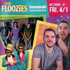 Win tickets to @flooziesduo @sunsquabi and @sugarbeatsmusic at @mezzaninesf on Friday April 1 just tag a few friends and you could be a winner #futurefunk #livemusic #bayareanightlife #mezzanine #SF #dancingshoes #floozies #sunsquabi #sugarbeats #ecpresents #dothebay @dothebay @apeconcerts by euphonic_conceptions
