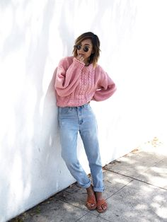 We're sharing some inspiration on styling mom jeans.