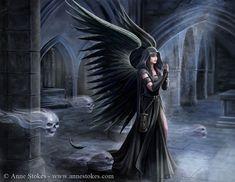 Gothic » Anne Stokes - Harbinger