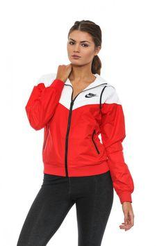 Nike Red Windbreaker