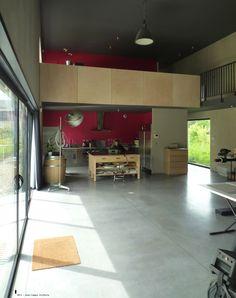 """Vue Intérieure - Studio Photographique """"La Belle Vie"""" - 2011 Agence BO.A - Agence Architecture à Rouen (France) #boarchitecture"""