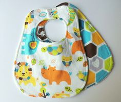 Etsy listing at https://www.etsy.com/listing/200462828/baby-bibs-zoo-animal-bibs-zoo-animals