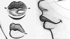 (18) how to draw lips - YouTube