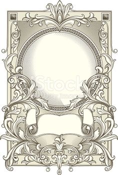 retro decorative design element, vector artwork