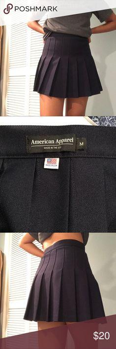 958ec5064 American Apparel Navy Blue Tennis Skirt Navy blue size medium tennis skirt.  Retails for 48